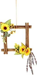 Best fall square wreath Reviews