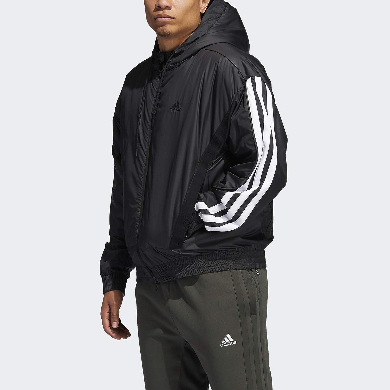 adidas Men's N3XT L3V3L Showtime Jacket, Black, 4XL Tall