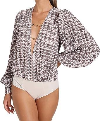 Elisabetta Franchi CB01307E2 - Camisa de body para mujer ...