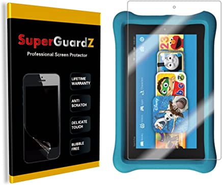 [3-Pack] Fire 7 Kids Edition (7th Gen, 2017 Release) Screen Protector - SuperGuardZ, Anti-Glare, Matte, Anti-Fingerprint, Anti-Scratch, Also Fit For Fire 7 (7th Gen, 2017) [Lifetime Replacement]