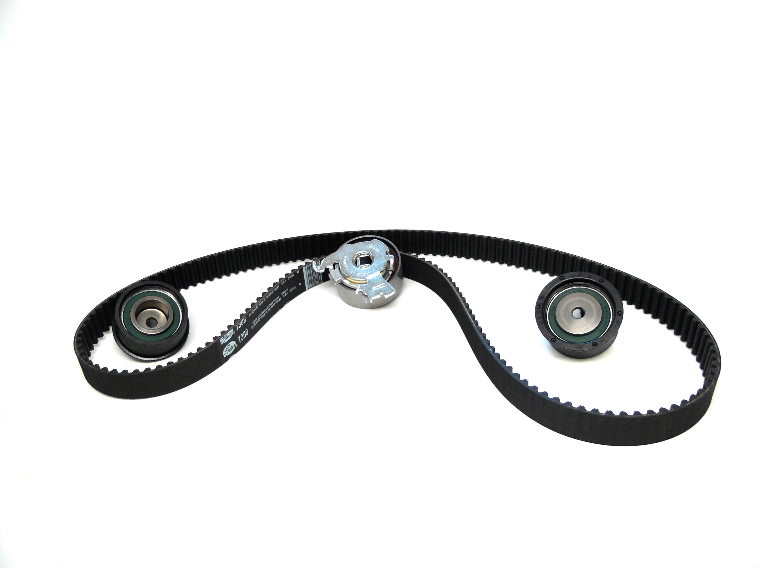 ACDelco TCKWP309 Professional Timing Belt and Water Pump Kit with Tensioner and 2 Idler Pulleys