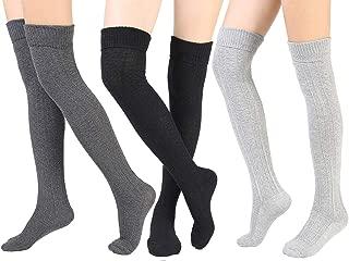 Best crochet thigh high socks pattern free Reviews