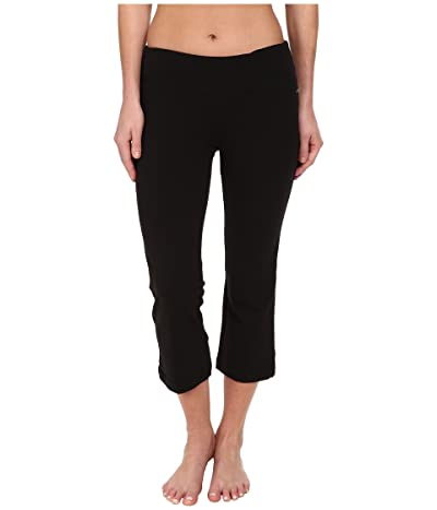 Jockey Active Slim Capri Flare (Black) Women