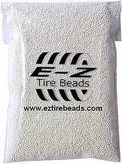 E-Z Tire Beads - Ceramic Dynamic Balancing 1 Bag of 3 oz Truck Motorhome 4x4 Trailer Motorcycle