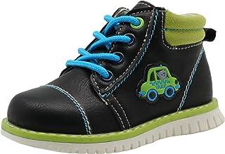 Apakowa Autumn Cartoon Toddler Boys Boots
