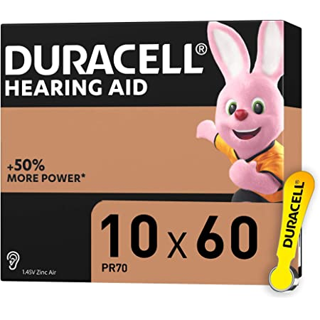 Duracell Hörgerätebatterien Größe 10 60er Pack Elektronik