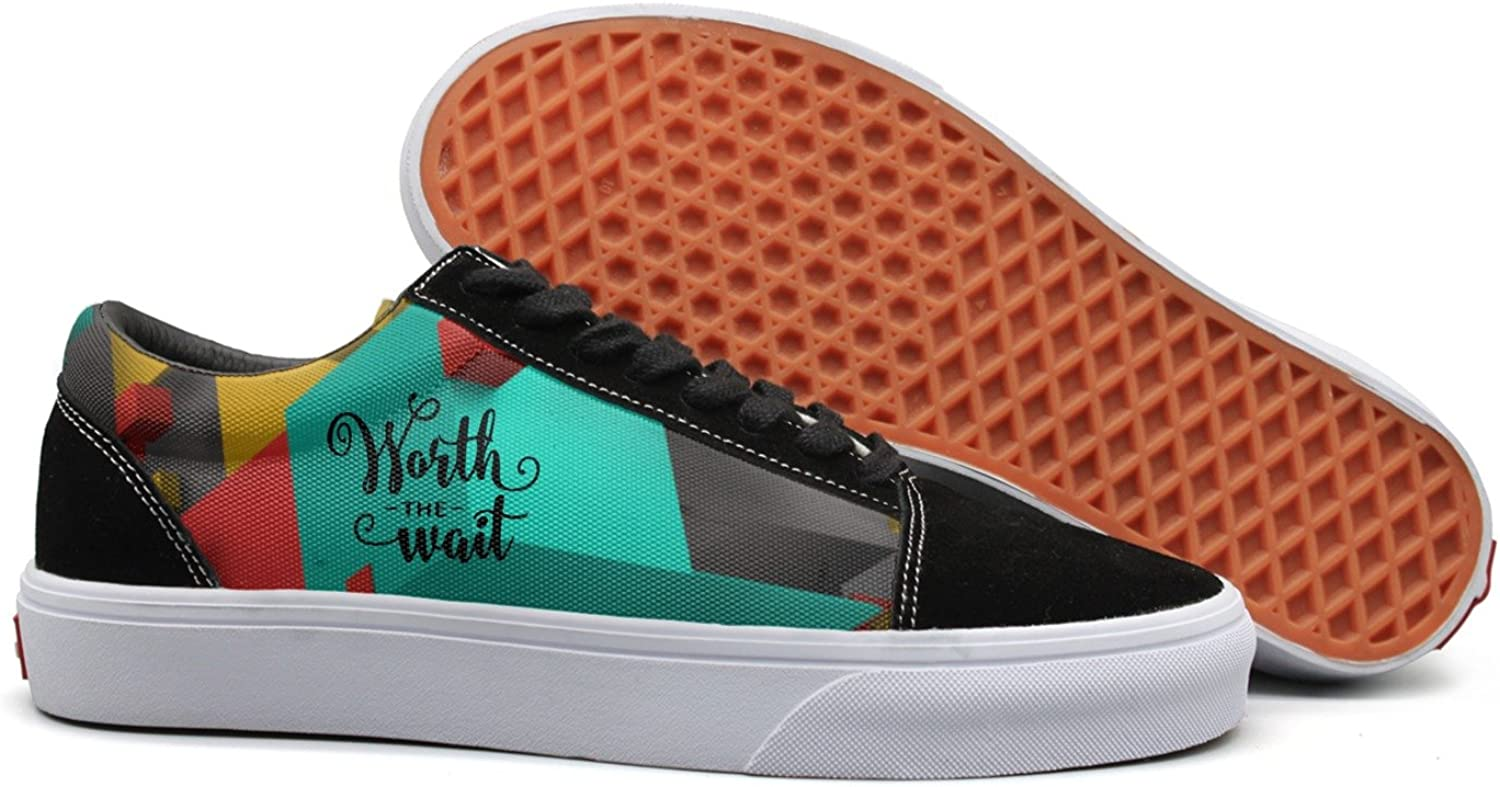 Worth the Wait womens fashion sneakers for women