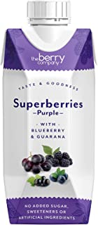 The Berry Company Superberries Purple Juice Blend with Blueberry & Guarana, 330 ml