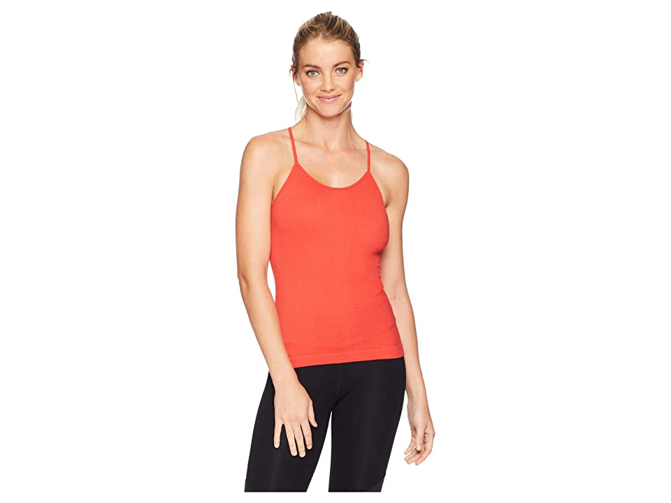 Free People Shine On Tank Top (Red) Women