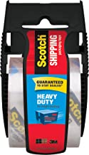 "Scotch Heavy Duty Shipping Packaging Tape, 1"" Core, 1.88"" x 19.4 yd, (142-700-H)"