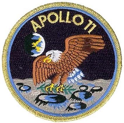 Amazon.com: Apolo 11 Mission parche oficial NASA Neil Armstrong Buzz Aldrin  fabricado en EE. UU. : Arte y Manualidades