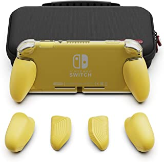 Skull & Co. GripCase Lite Bundle: A Comfortable Protective Case with Replaceable Grips [to fit All Hands Sizes] for Ninten...