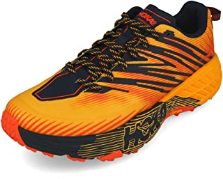 HOKA ONE ONE Speedgoat 4 Sports Shoes Men Orange - 12.5 - Running Shoes