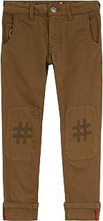 Oilily YS19GPA204 - Pantalón de 5 Bolsillos, diseño Estampado, Color Caqui