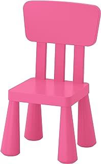 Ikea Mammut Kids Indoor / Outdoor Children's Chair, Pink Color - 1 Pack