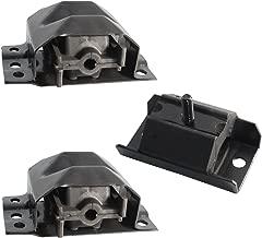 2pc Motor Engine Mounts = 2pc Front & 1pc Transmission Mount - for 88-02 GMC/Chevrolet Trucks