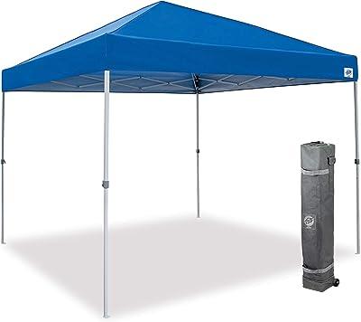E-Z UP Patriot ONE-UP Technology Shelter, 10' x 10', Royal Blue (PTSRB10)