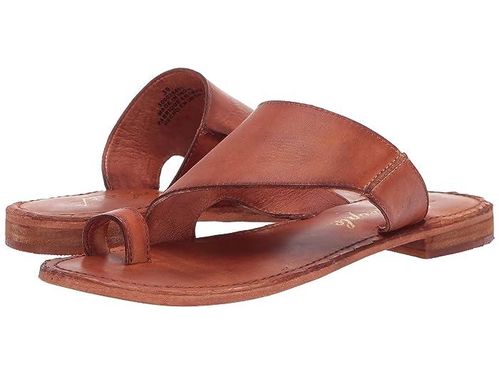 Free People  Sant Antoni Slide (Brown) Womens Dress Sandals