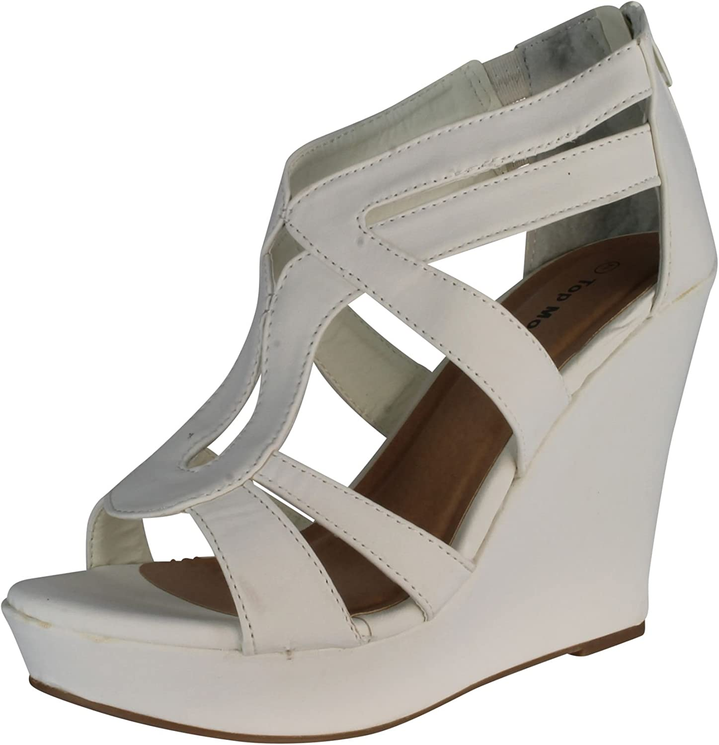 Lindy 03 Strappy Open Toe Finally resale Max 56% OFF start Platform Wedge