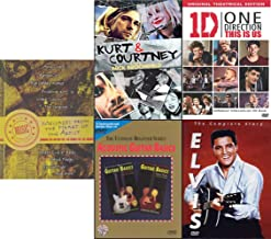 Teaching Celebrating Respecting Music Student Bundle: Acoustic Guitar Basics/ Kurt & Courtney/ Elvis The Complete Story/ 1D This Is Us/ The Music Matters Vol 1 (5-DVD Bundle)
