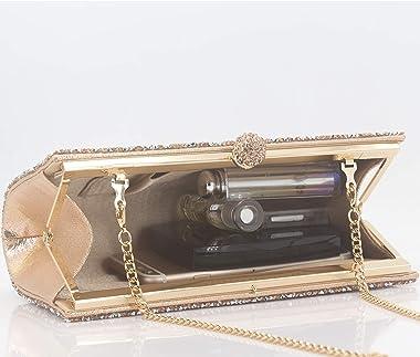 MagicLove Bling Abendtasche für Frauen Strass Kristall Clutch Geldbörse