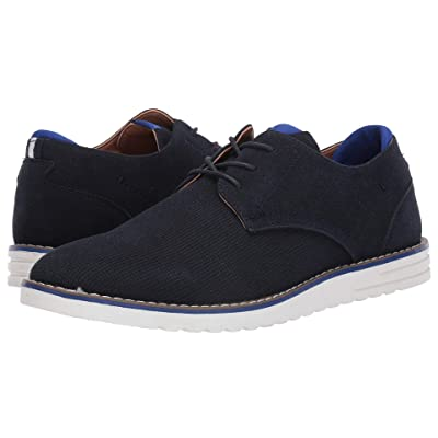Madden by Steve Madden Cale 6 (Navy Suede) Men