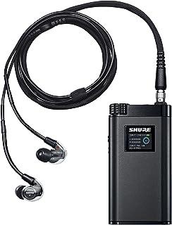 SHURE イヤホンシステム KSE1500 高遮音性 コンデンサー型 ハイレゾ対応 ヘッドホンアンプ一体型 KSE1500SYS-J-P 【国内正規品】