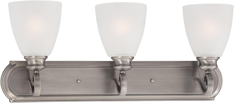 Elk Lighting TV0016741 Haven 3-Light Satin Lamp Vanity Pewter in ランキングTOP5 レビューを書けば送料当店負担