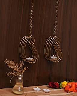 CraftVatika Wall Sconce Tealight Candle Holders - Candle Holder for Wall Hanging - Metal Wall Art for Home, Living Room, B...
