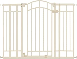 Summer Infant Multi-Use Deco Extra Tall Walk-Thru Gate, Beige (28.5 - 48 Inch)