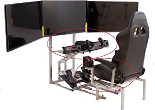 GTR Simulator - CRJ Simulator Upgrade to Deluxe - armrest, Oversize Table top, Middle Control Holder. Simulator is not Included.