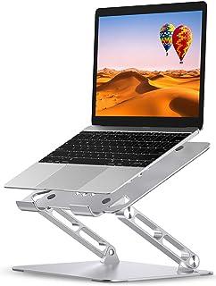 Babacom Supporto PC Portatile, Regolabile Porta PC per Scrivania, Alluminio Raffreddamento Ventilato Laptop Stand Con Hea...