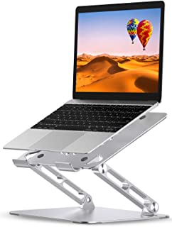 Babacom Supporto PC Portatile, Regolabile Porta PC per Scrivania, Alluminio Raffreddamento Ventilato Laptop Stand Con Heat...