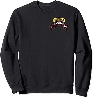 75th Army Ranger Shirt - Scroll & Ranger Sweatshirt