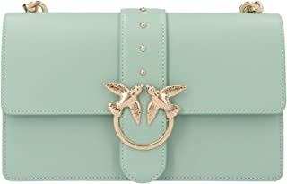 Luxury Fashion | Pinko Womens 1P21R3Y5FFT31 Green Shoulder Bag |