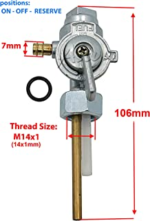 Aitook Fuel Switch Petcock For Yamaha DT100 DT 100 DT-100 1981 1982 1983
