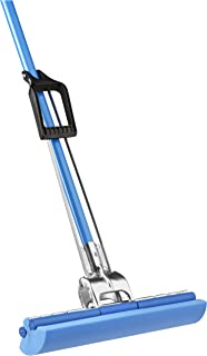 Vileda Industrial Janitor Roll-O-Matic Sponge Mop for Commercial Use, 14 Inch (Pack - 1)