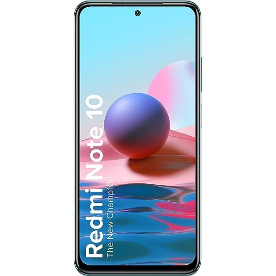 Redmi Note 10 (Aqua Green, 4GB RAM, 64GB Storage) -Amoled Dot Display | 48MP Sony Sensor IMX582 | Snapdragon 678 Processor