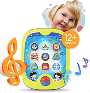 """Smart Pad for Babies and Children Learning by Boxiki Kids. Educational Toy for Infants with Kids' Learning Games. Learn Numbers, ABC Learning, """"Can You Find?"""" Game, Music, Light Up Whack-a-Mole Game"""