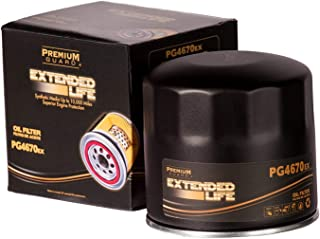 PG PG4670EX EXtended Performance Oil Filter|Fits 1991-93 Alfa Romeo 164, 1987-89 Milano, 1981-94 Spider, 1973-75 Austin Marina, 1984-89 Bertone X-1/9, 2005-07 Chrysler 300, 1999-04 300M