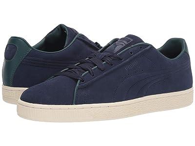 PUMA Suede Classic Raised Formstripe (Peacoat/Ponderosa Pine) Shoes