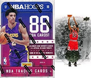 lonzo ball nba hoops rookie card