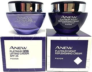 AVON Anew Platinum Define & Contour : Day Cream + Night Cream Set of 2