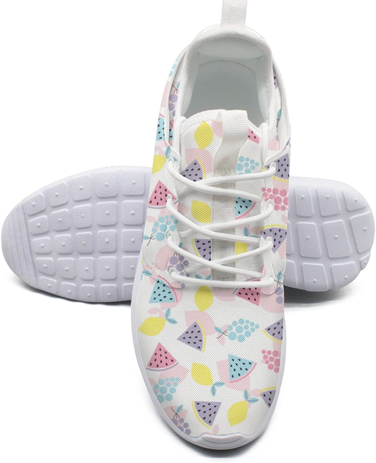 Low Carb Fruits Women's Lightweight Mesh Sneakers shoes Trendy Running shoes