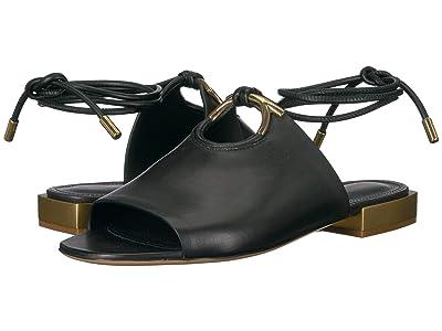 Salvatore Ferragamo Laino Sandal (Nero Saddle) Women