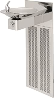 Haws H1001.8HPS Stainless Steel 18 Gauge Barrier-Free High Polished Electric Water Cooler with Round Sculpted Bowl (Chiller and Mounting Frame Not Included)