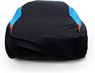 MORNYRAY Waterproof Car Cover All Weather Snowproof UV Protection Windproof Outdoor Full car Cover, Universal Fit for Seda...