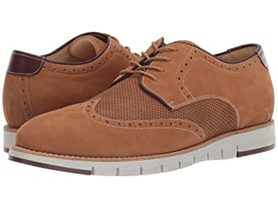 J&M EST. 1850 Martell Perf Wing Tip (Tan) Men