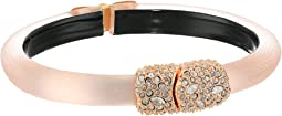 Crystal Encrusted Clasp Skinny Hinge Bracelet