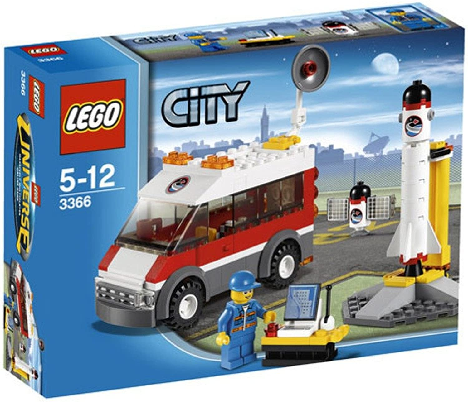 buscando agente de ventas LEGO CITY SATELLITE LAUNCH PAD - 3366 3366 3366  alta calidad general